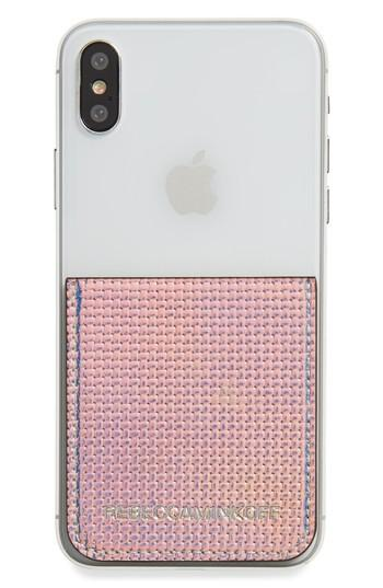 Rebecca Minkoff Adhesive Phone Sticker Pocket - Green