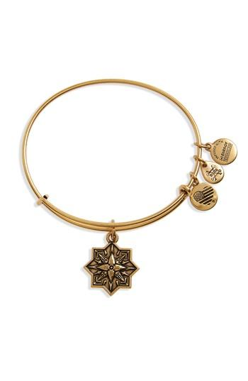 Women's Alex And Ani Healing Love Adjustable Wire Bangle
