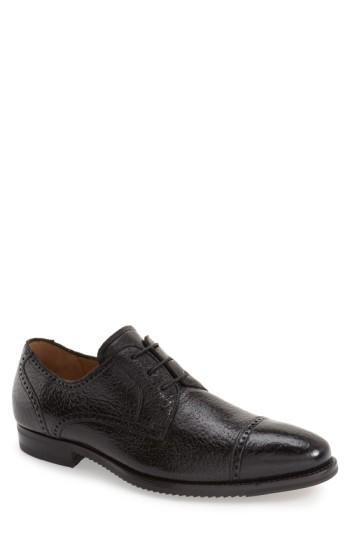 Men's Mezlan 'capri' Cap Toe Derby M - Black