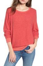 Women's Wildfox Baggy Beach Jumper Pullover - Red