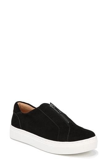 Women's Naturalizer Cyan Slip-on Sneaker M - Black