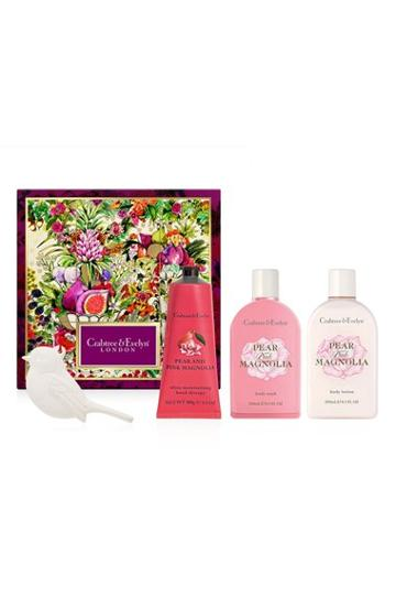 Crabtree & Evelyn Pear & Pink Magnolia Deluxe Gift Set