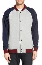 Men's Z.a.k. Brand Colorblock Knit Baseball Jacket