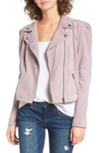 Women's Leith Suede Moto Jacket