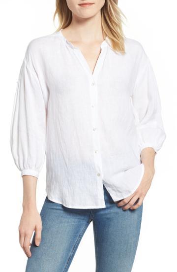 Women's Velvet By Graham & Spencer Linen Shirt