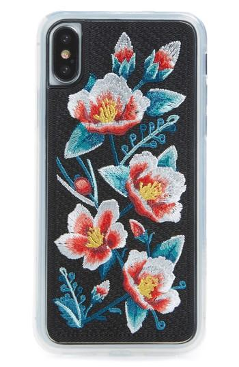 Zero Gravity Camellia Iphone X Case - White