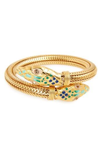 Women's Gas Bijoux 'cobra' Enameled Bracelet