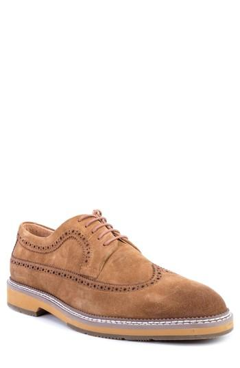 Men's Zanzara Modigliani Wingtip Derby M - Brown