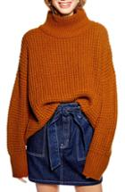 Women's Topshop Raglan Sleeve Sweater Us (fits Like 0) - Ivory