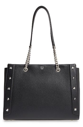 Mcm Large Catherine Leather Tote -