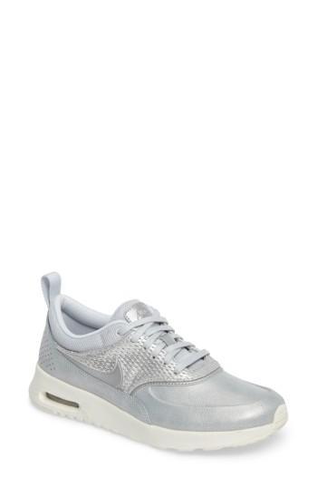 Women's Nike Air Max Thea Premium Sneaker M - Metallic