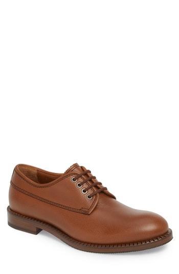 Men's Aquatalia Jonah Weatherproof Plain Toe Derby M - Brown