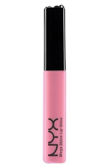Nyx Mega Shine Lip Gloss Nude Pink