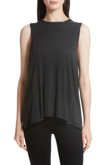 Women's Rag & Bone/jean Dahlia Muscle Tank, Size - Black