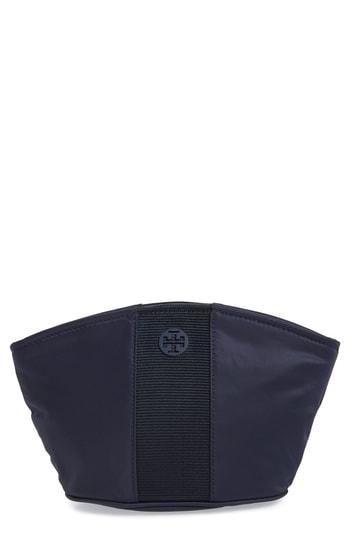 Tory Burch Medium Cosmetics Case, Size - Tory Navy