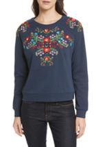 Women's Rebecca Minkoff Jennings Sweatshirt, Size - Blue