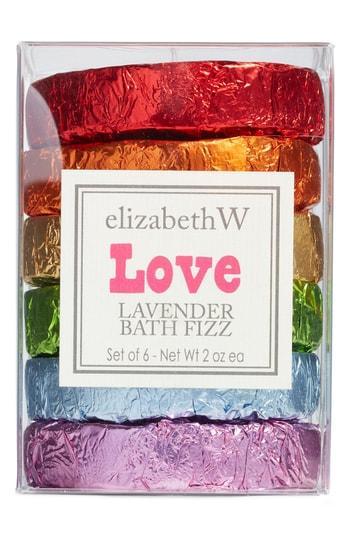 Elizabethw Love Lavender Bath Fizz Set