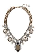 Women's Leith Crystal & Imitation Pearl Necklace