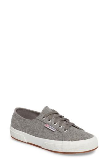 Women's Superga 2750 Wool Sneaker Us / 36eu - Grey