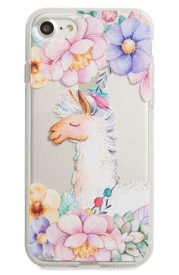 Milkyway Llama Iphone 7 Case - White