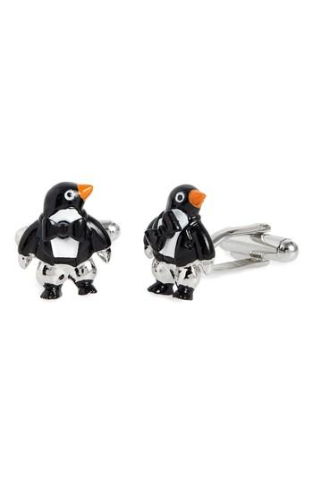 Men's Link Up Penguin Cuff Links