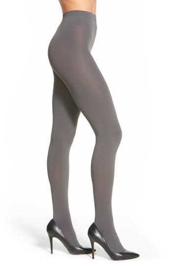 Women's Falke 'pure Matte 100' Opaque Tights - Grey