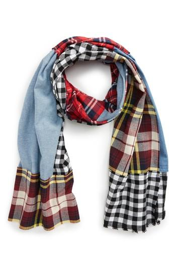 Women's Leith Patchwork Oblong Scarf