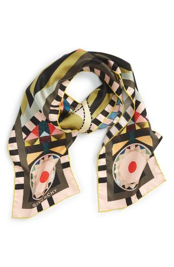 Women's Givenchy Egyptian Wings Skinny Scarf