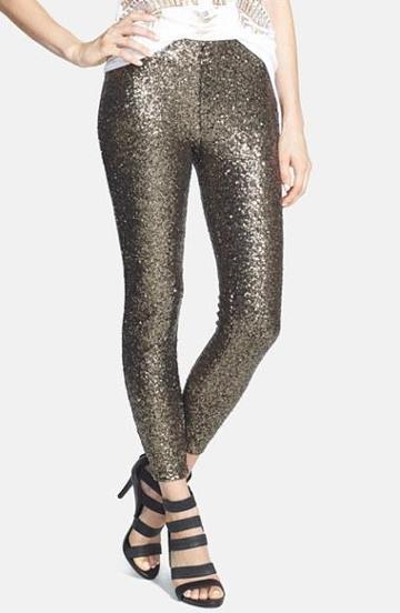Lucy Paris 'shasta' Sequin Leggings