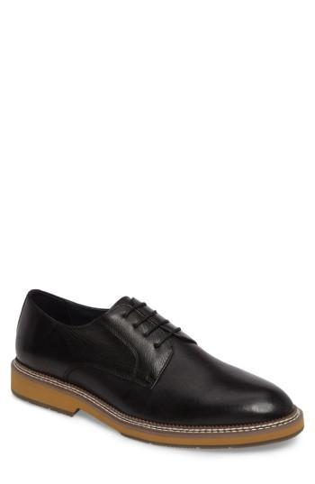 Men's Zanzara Fenton Plain Toe Derby M - Black