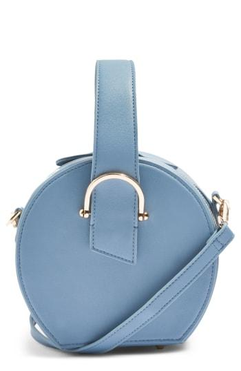 Topshop Carolina Case Crossbody Bag - Blue