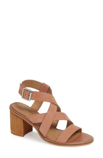 Women's Chinese Laundry Cacey Sandal M - Brown