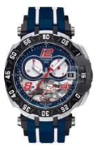 Men's Tissot T-race Sport Chronograph Watch, 45mm