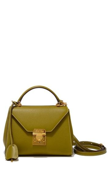 Mark Cross 'baby Hadley' Leather Satchel