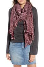 Women's Leith Waffle Grid Oblong Scarf