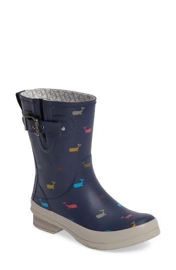 Women's Chooka Whales Mid Rain Boot