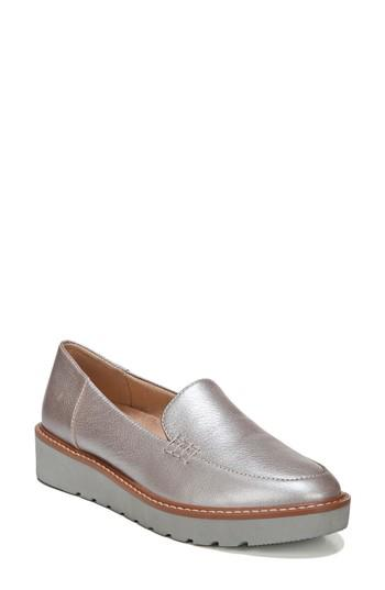 Women's Naturalizer Andie Loafer M - Metallic