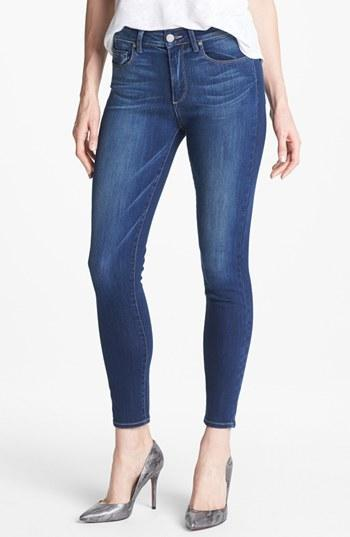 Paige Denim 'hoxton' Skinny Ankle Jeans (light Year) Womens Light Year