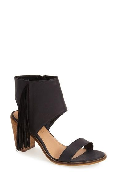 Women's Very Volatile 'vermont' Fringe Leather Sandal