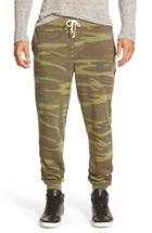 Men's Alternative 'dodgeball' Camo Print Sweatpants, Size - Green