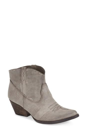 Women's Very Volatile 'mishka' Perforated Western Bootie
