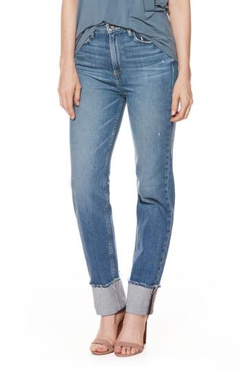 Women's Paige Sarah High Waist Straight Leg Jeans