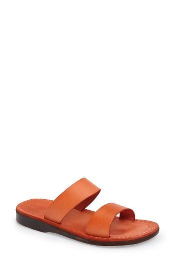 Women's Jerusalem Sandals Aviv Slide Sandal Us / 36eu - Orange