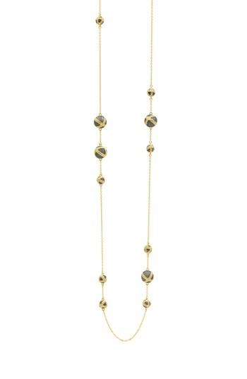 Women's Freida Rothman Textured Ornaments Station Necklace