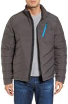Men's Spyder Syrround Down Jacket, Size - Grey
