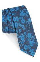 Men's The Tie Bar Buds Linen Tie, Size - Blue