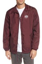 Men's Vans Torrey Water Resistant Jacket - Burgundy