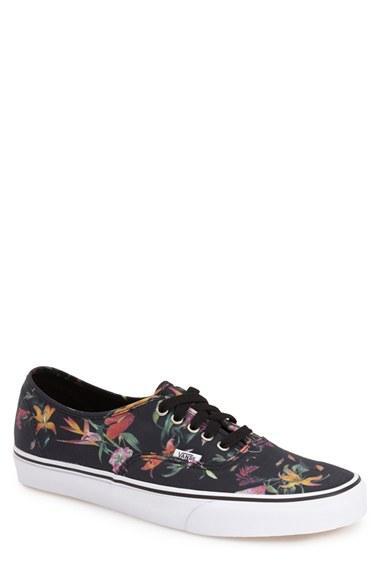 Men's Vans 'authentic' Sneaker .5 M - Black