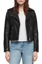 Women's Allsaints Hadi Leather Biker Jacket