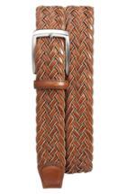 Men's Torino Belts Braided Leather Belt - Tan/ Cognac